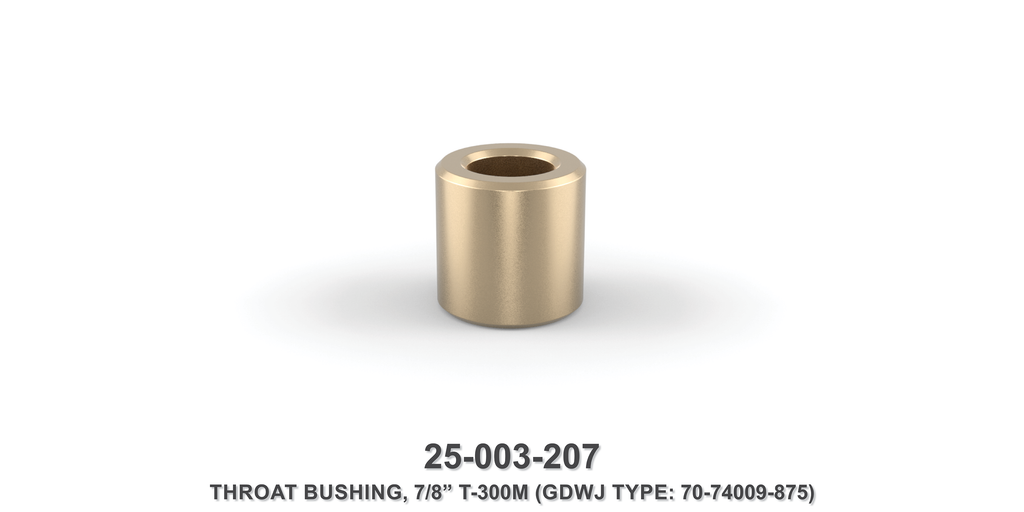 "7/8"" Throat Bushing - Gardner Denver / Butterworth Type"