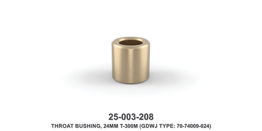 24 mm Throat Bushing - Gardner Denver / Butterworth Type