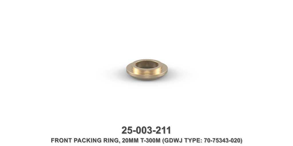 20 mm Front Packing Ring - Gardner Denver / Butterworth Type