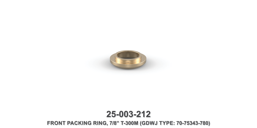 "7/8"" Front Packing Ring - Gardner Denver / Butterworth Type"
