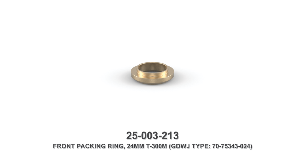 24 mm Front Packing Ring - Gardner Denver / Butterworth Type
