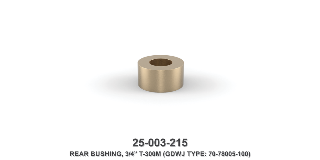 "3/4"" Rear Bushing - Gardner Denver / Butterworth Type"