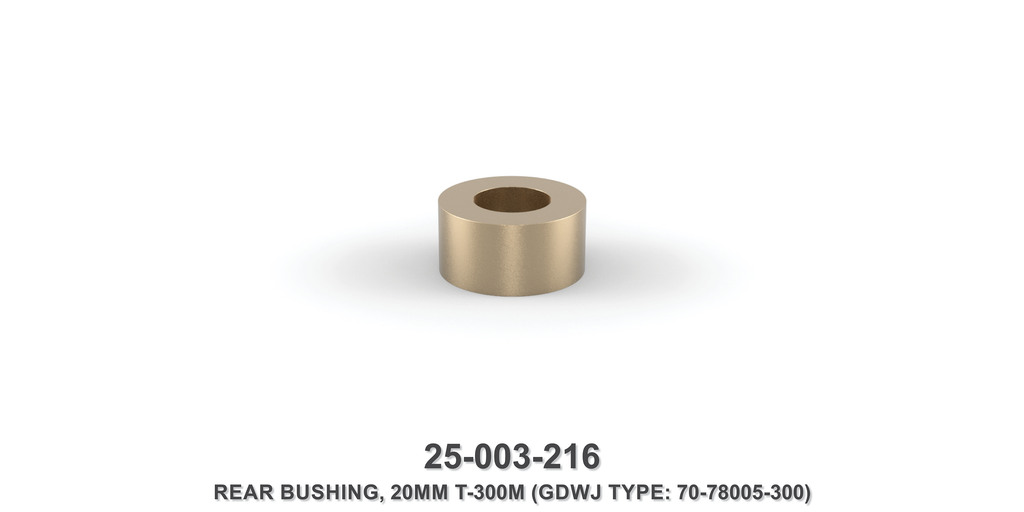 20 mm Rear Bushing - Gardner Denver / Butterworth Type