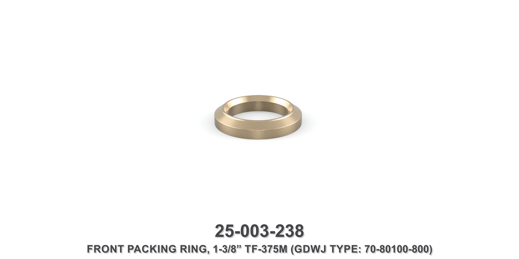 "15K 1-3/8"" TF-375M Front Packing Ring - Gardner Denver / Butterworth Type"