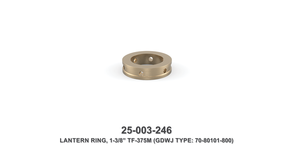 "15K 1-3/8"" TF-375M Lantern Ring - Gardner Denver / Butterworth Type"