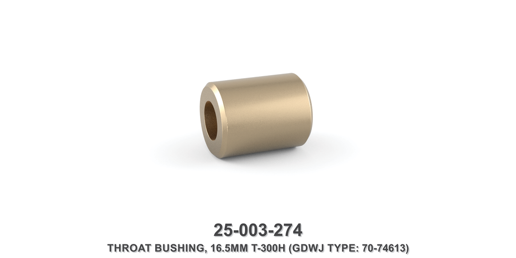 16.5 mm Throat Bushing - Gardner Denver / Butterworth Type