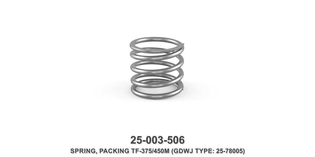 TF-375/450 Packing Spring - Gardner Denver / Butterworth Type