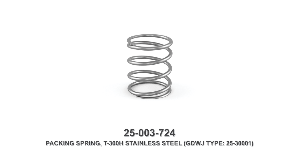 T-300H Stainless Steel Packing Spring - Gardner Denver / Butterworth Type