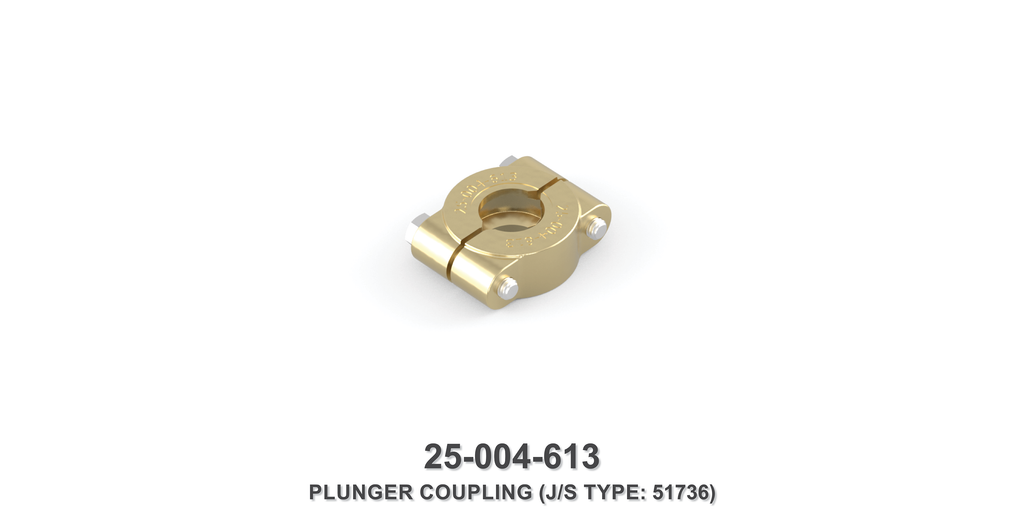 Plunger Coupling - Jetstream Type
