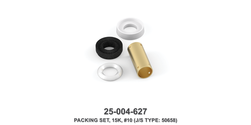 15K Packing Set - Size 10 Plunger - Jetstream Type