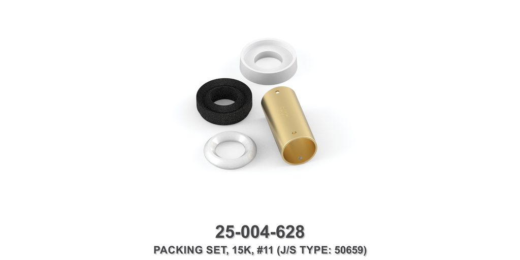 15K Packing Set - Size 11 Plunger - Jetstream Type