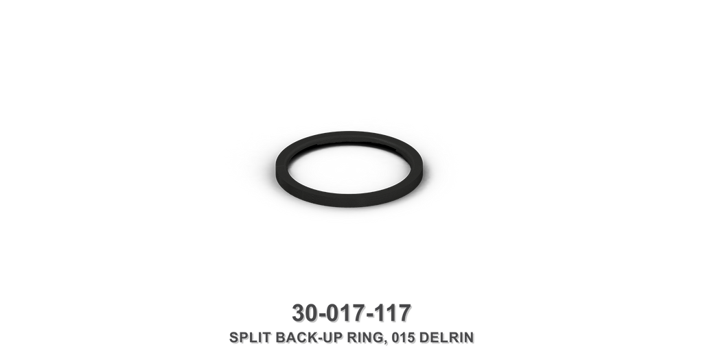 015 Delrin Split Back-Up Ring