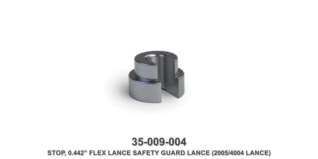 "0.442"" Flex Lance Safety Guard Lance Stop"