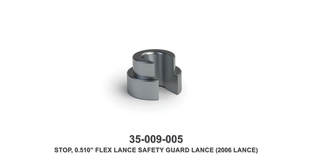"0.510"" Flex Lance Safety Guard Lance Stop"
