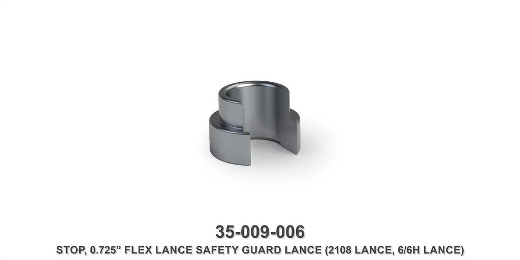 "0.725"" Flex Lance Safety Guard Lance Stop"