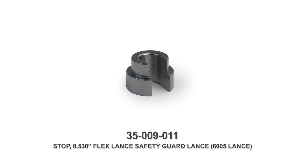 "0.530"" Flex Lance Safety Guard Lance Stop"