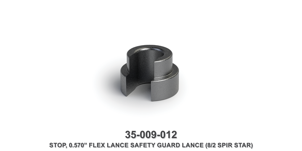 "0.570"" Flex Lance Safety Guard Lance Stop"