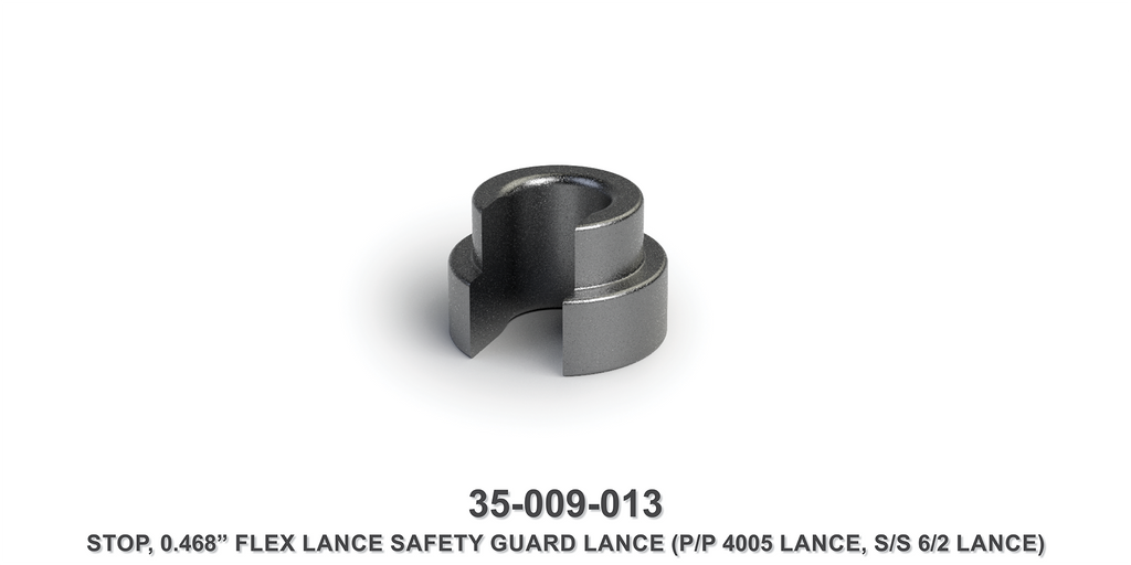 "0.468"" Flex Lance Safety Guard Lance Stop"