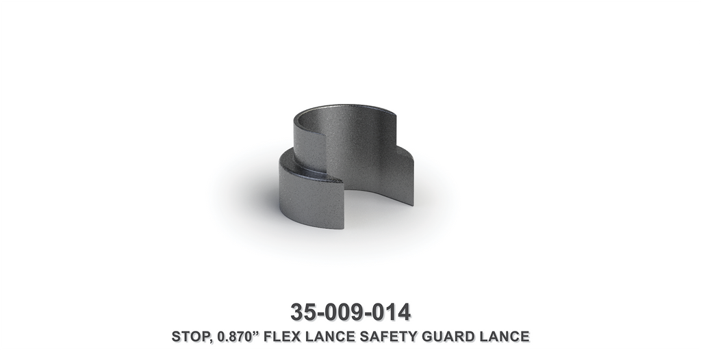 "0.870"" Flex Lance Safety Guard Lance Stop"