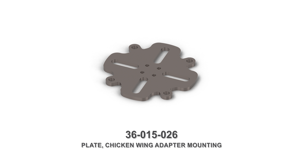 Chicken Wing Adapter Mounting Plate
