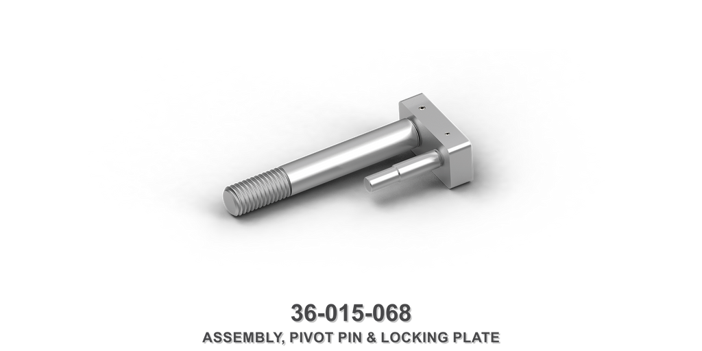 Pivot Pin and Locking Plate Assembly