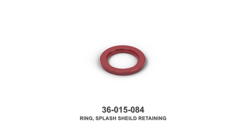 Splash Shield Retaining Ring