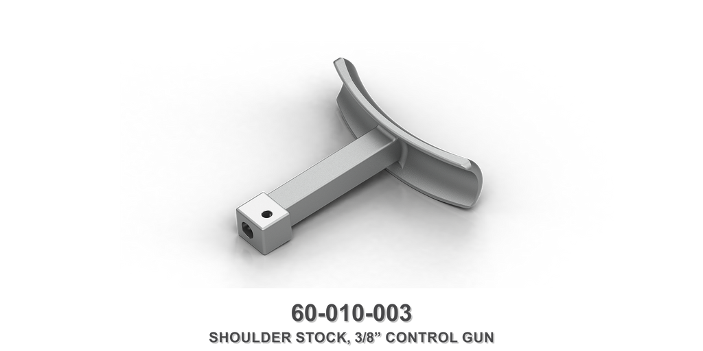 "3/8"" Control Gun Shoulder Stock"