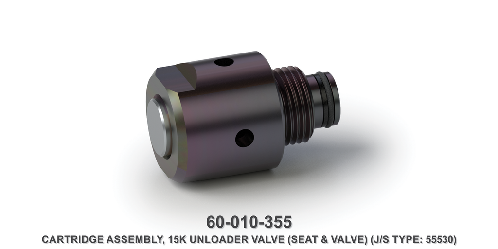 15K Unloader Valve Cartridge Assembly
