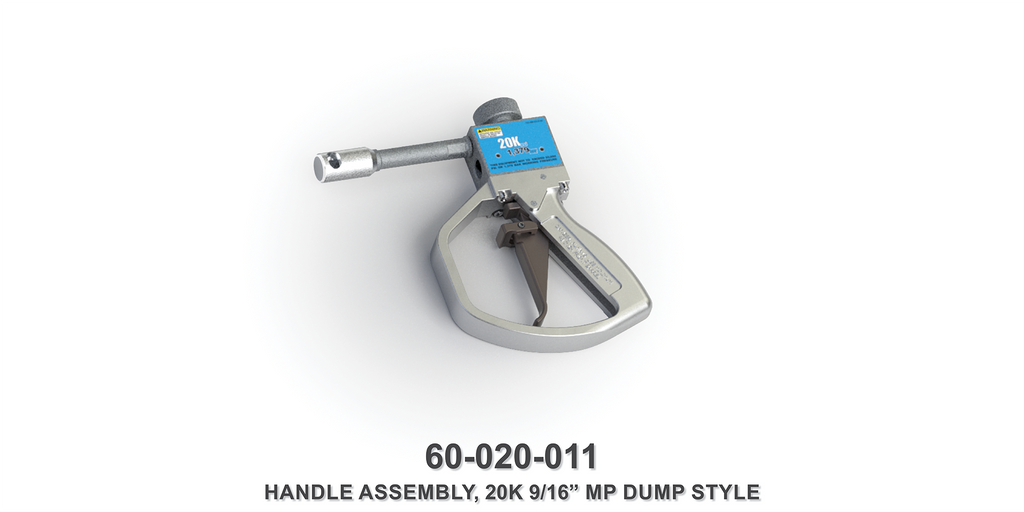 "20K 9/16"" MP Dump Style Handle Assembly"