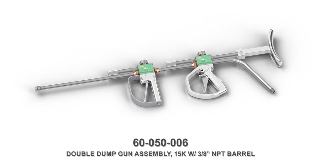 15K Hand-Held Double Dump Gun