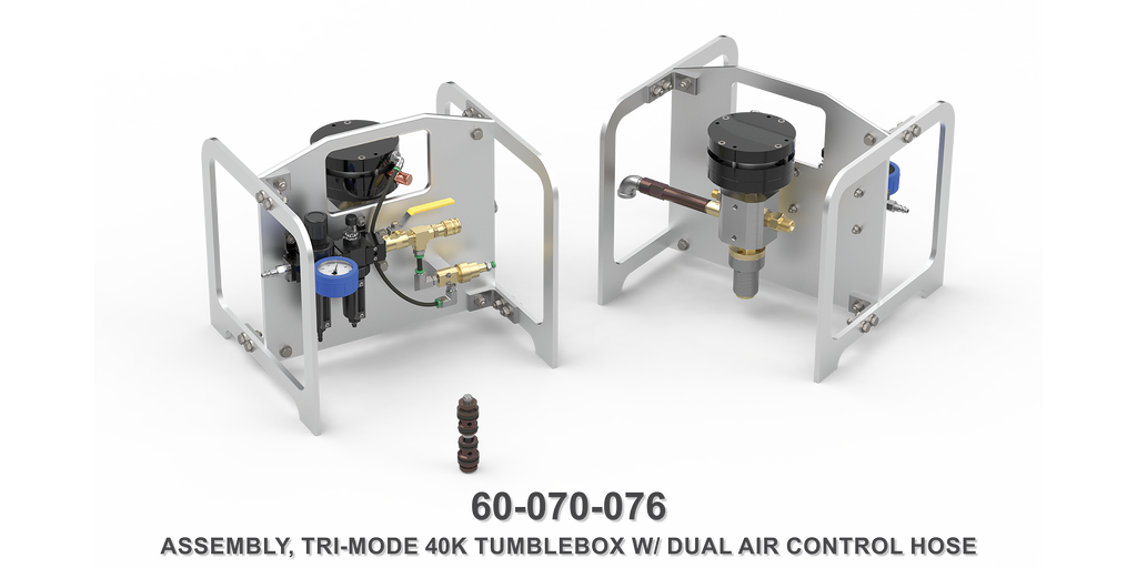 40K Tri-Mode Tumblebox with Dual Air Control Hose
