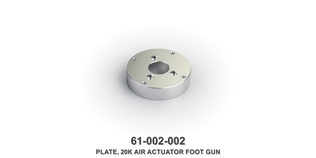 20K Air Actuator Foot Gun Plate
