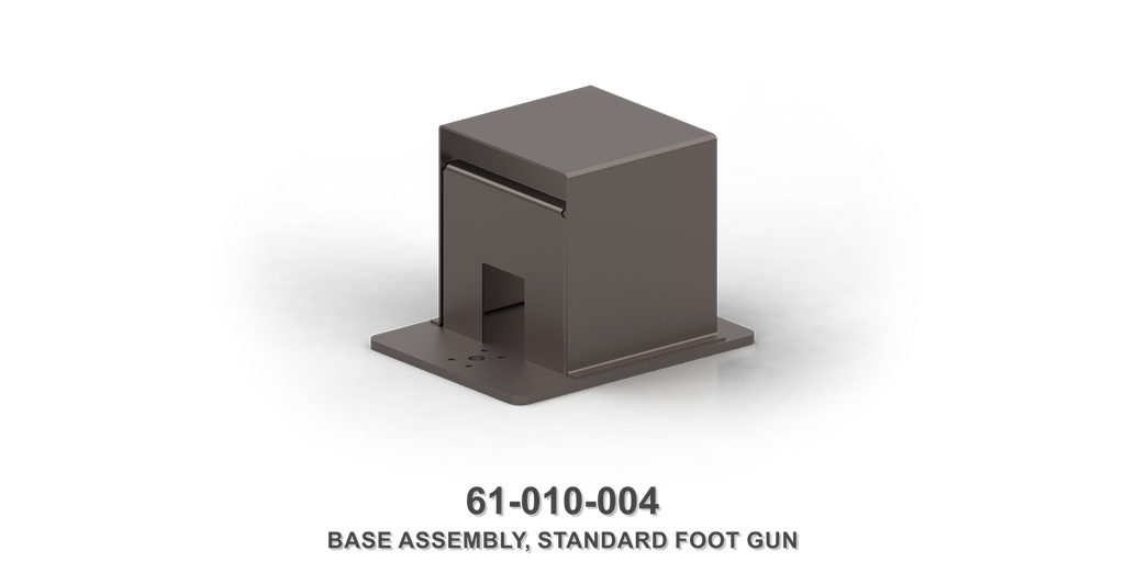 Standard Foot Gun Base Plate