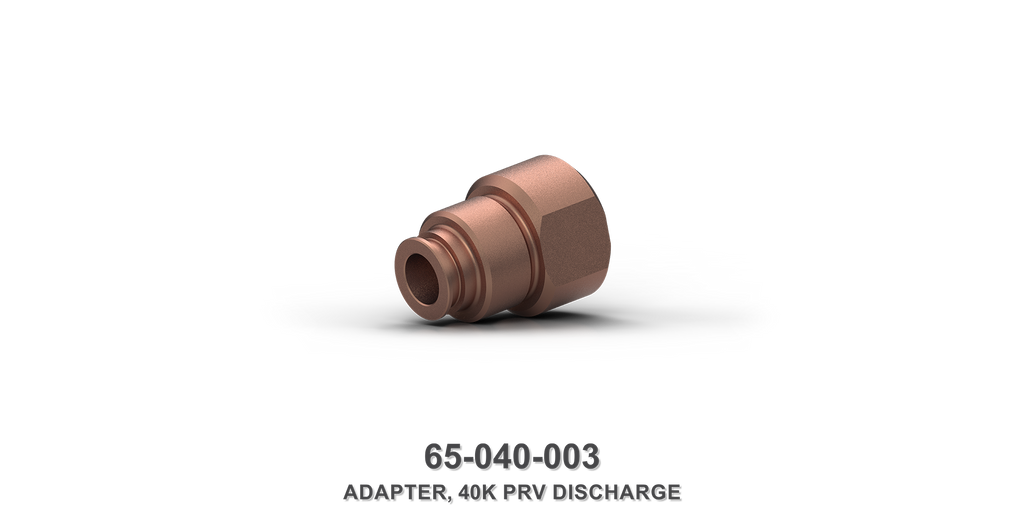 40K Pressure Regulating Valve Discharge Adapter
