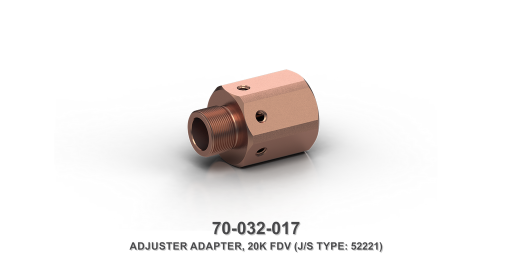 20K Flow Divider Valve Adjuster Adapter