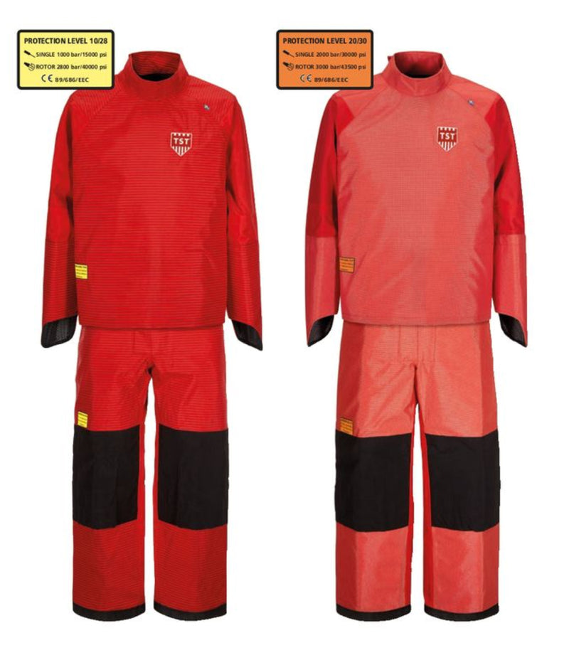 TST-Sweden Gamma Complete Kit - Trousers and Jacket with Integrated Hand Protection
