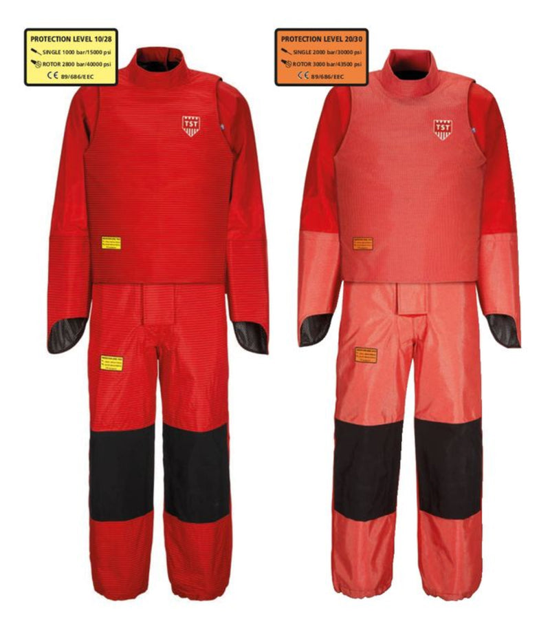 TST 10/28 2XL SIGMA COMPLETE KIT (WAISTCOAT, OVERALL W/ INTEGRATED HAND PROTECTION)