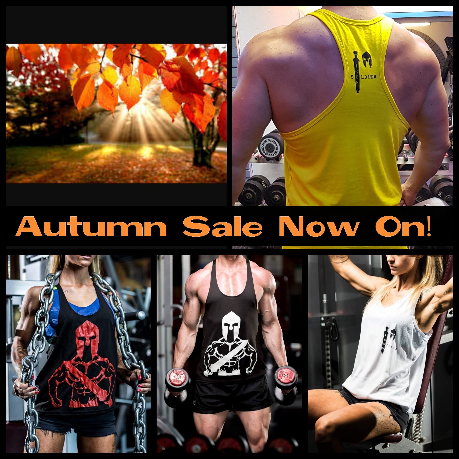 AUTUMN SALE NOW ON!!