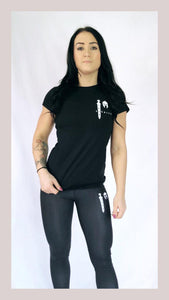 Women's Black Chill Out T-Shirt