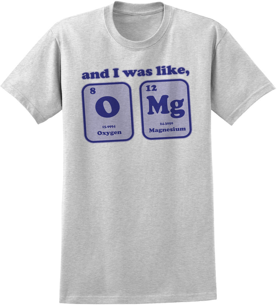 Periodic table omg joke gifts for science nerds shirts for geeks periodic table omg joke gifts for science nerds shirts for geeks chemistry humor gamestrikefo Image collections