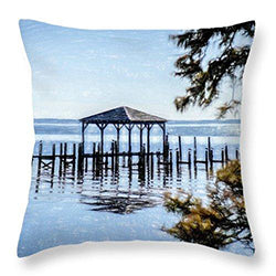 Pillow with Outerbanks Image