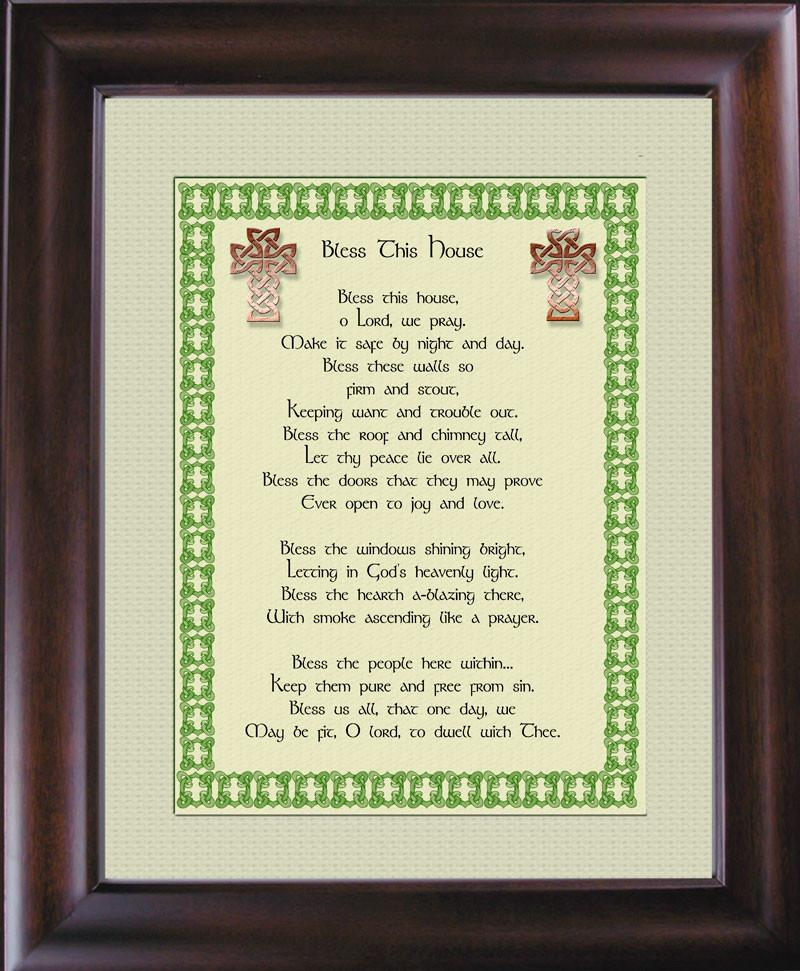 Bless This House - Irish Blessing