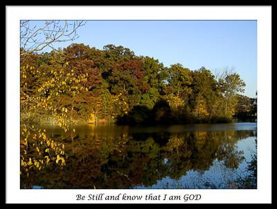 Be Still and Know That I am God (Lake)