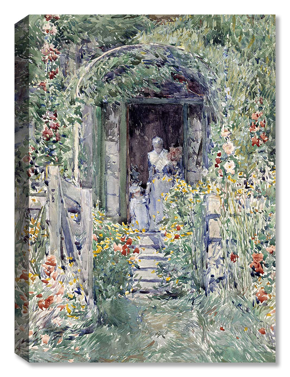The Garden in Its Glory - Canvas Art
