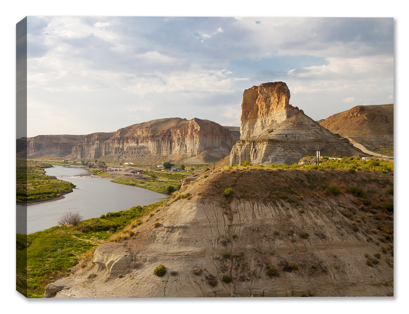 Green River View - Canvas Art Plus