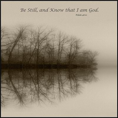 Be Still and Know - Canvas Print