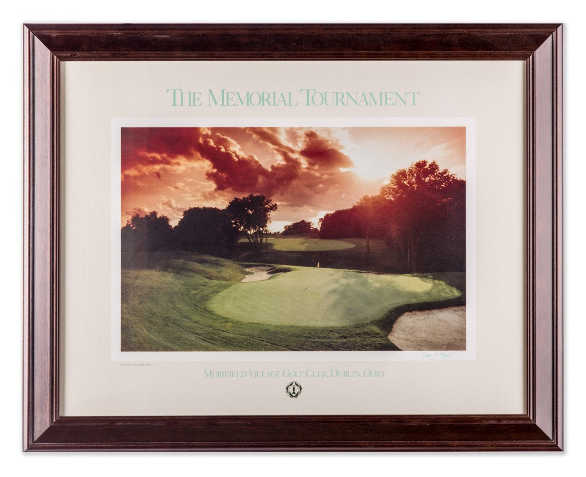 The Memorial at Muirfield #15 - Framed Art