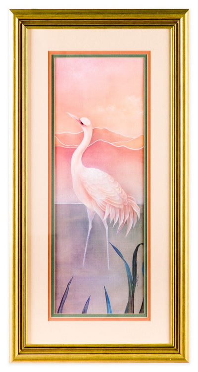 Pink Pelicans at Sunrise #2 - Fine Art Print - Framed Art - 1
