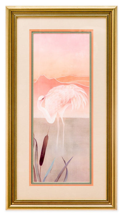 Pink Pelicans at Sunrise #2 - Fine Art Print - Framed Art - 2