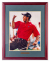 Tiger Woods - Fist Pump - Framed Art